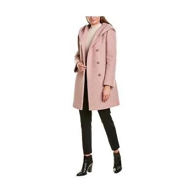 レディース ファッション  Cole Haan Signature Asymmetrical Wool-Blend Coat