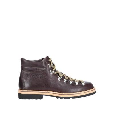 FRACAP ショートブーツ  メンズファッション  メンズシューズ、紳士靴  ブーツ  その他ブーツ ダークブラウン