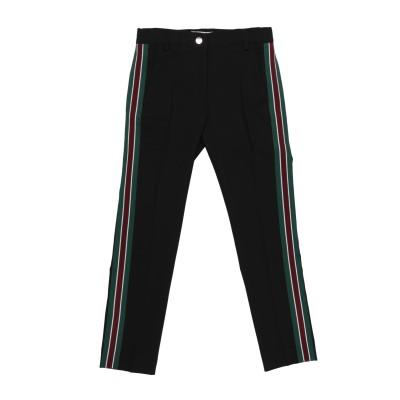 NUNZIA CORINNA パンツ ブラック 10 ポリエステル 88% / ポリウレタン 12% パンツ