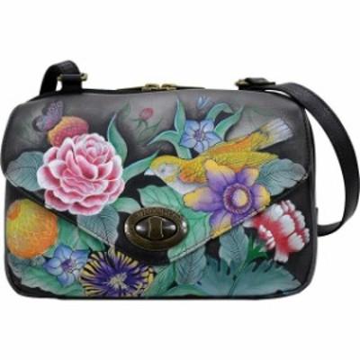Anuschka  ファッション バッグ Anuschka Convertible Travel Organizer - Vintage Bouquet Day Travel Bag NEW