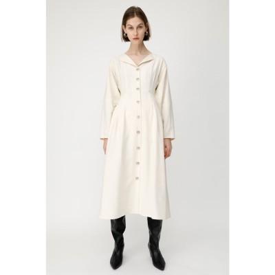 TUCK WAIST L/S SHIRT ドレス IVOY3