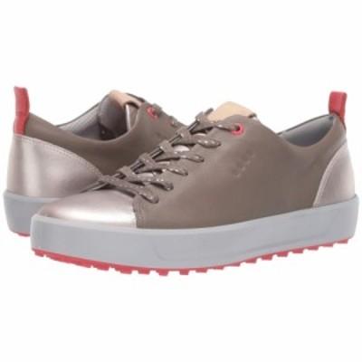 エコー ECCO Golf レディース スニーカー シューズ・靴 soft metallic hydromax Warm Grey