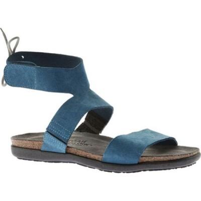 ナオト Naot レディース サンダル・ミュール アンクルストラップ シューズ・靴 Larissa Ankle Strap Sandal Pacific Blue