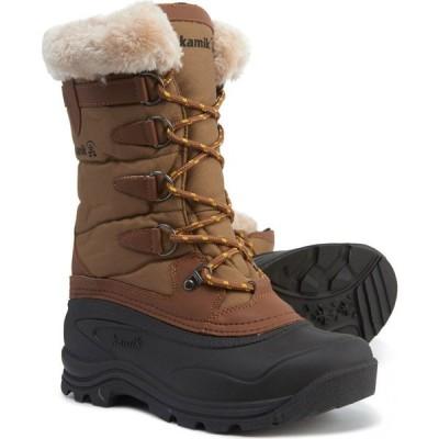 カミック Kamik レディース ブーツ シューズ・靴 Shellback Pac Boots - Waterproof Khaki