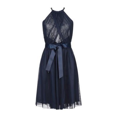 レリッシュ RELISH ミニワンピース&ドレス ダークブルー M ポリエステル 100% ミニワンピース&ドレス