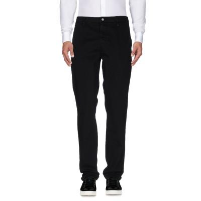 YOOX - CALVIN KLEIN JEANS パンツ ブラック 31W-34L コットン 97% / ポリウレタン 3% パンツ