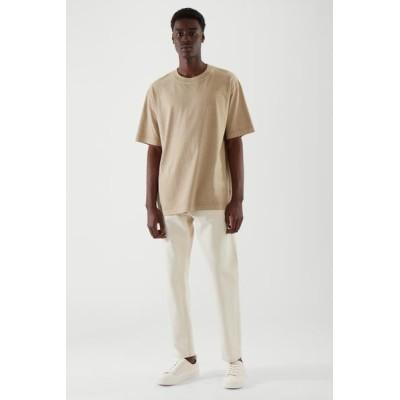 オーバーサイズTシャツ / COS公式ストア / オーガニックコットン / ダスティベージュ/ コス /