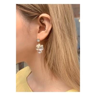 HEYLADY レディース イヤリング Beiu Gold Earrings