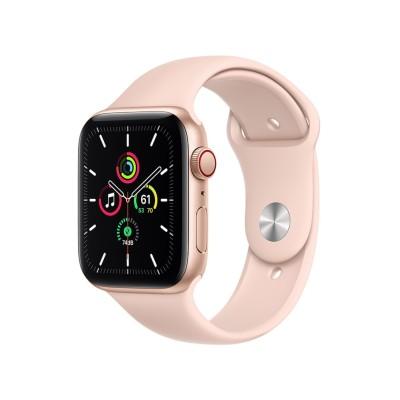 Apple Watch SE GPS+Cellularモデル 44mm MYEX2J/A [ピンクサンドスポーツバンド]