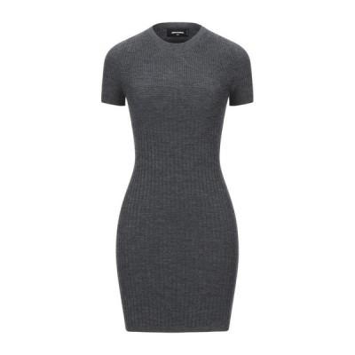 DSQUARED2 チューブドレス ファッション  レディースファッション  ドレス、ブライダル  パーティドレス 鉛色