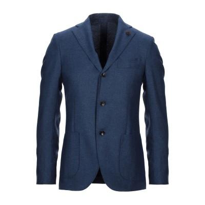 ラルディーニ LARDINI テーラードジャケット ブルー 48 ウール 100% テーラードジャケット