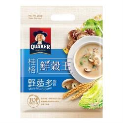 【QUAKER 桂格】鮮穀王-野菇多26g*10入
