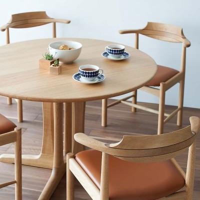 木馬舎 シズクル丸テーブル 円形ダイニングテーブル sizucur こまや komaya 国産 飛騨の家具