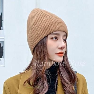 帽子 レディース ニット帽 ハット もこもこ 暖かい かわいい 裹起毛 韓国風 彼女 ギフト 学生 オシャレ 秋 おしゃれ 冬 贈り物