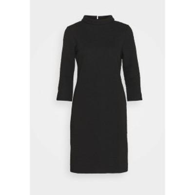 モア アンド モア レディース ワンピース トップス DRESS  - Shift dress - black black