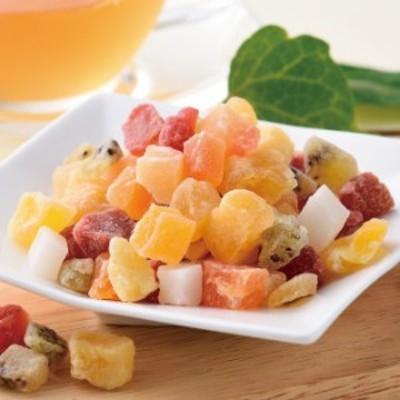 7種のこだわりドライフルーツミックス (ドライフルーツ いちご マンゴー キウイ パイン パパイヤ りんご ココナッツ)《ティーライフ》