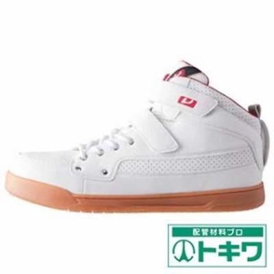 バ-トル 作業靴 809-29-265 ホワイト 809-29-265 ( 1149783 )