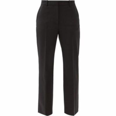 ジョゼフ Joseph レディース ボトムス・パンツ Coleman wool-blend straight-leg trousers Black