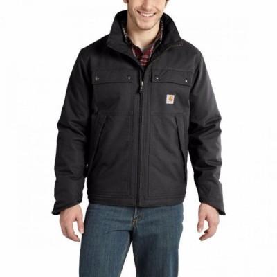 カーハート CARHARTT メンズ ジャケット アウター Quick Duck Jefferson Traditional Jacket BLACK