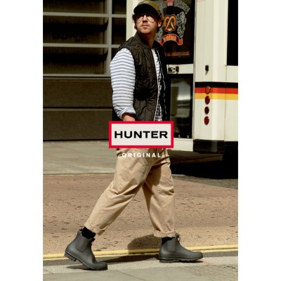 ハンター HUNTER MENS ORIGINAL CHELSEA (BLK)