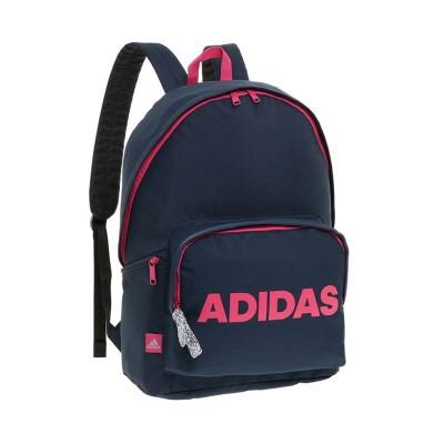 (adidas/アディダス)アディダス リュック デイバッグ 20L A4 B4ファイル ADIDAS 57592 スクールバッグ メンズ レディース 男女兼用/ユニセックス ネイビー