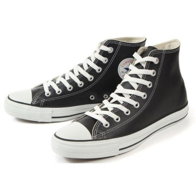 converse(コンバース) LEA ALL STAR HI(レザーオールスター ハイ) 32044991 1B908 ブラック SALE