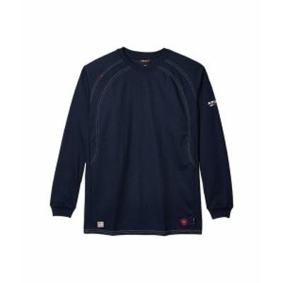 アリアト メンズ シャツ トップス FR Work Crew T-Shirt Navy