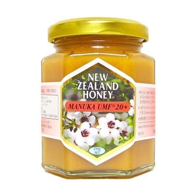 ハニーマザー マヌカハニー UMF20+ 250g 非加熱 100%純粋 ニュージーランド産 マヌカ蜂蜜