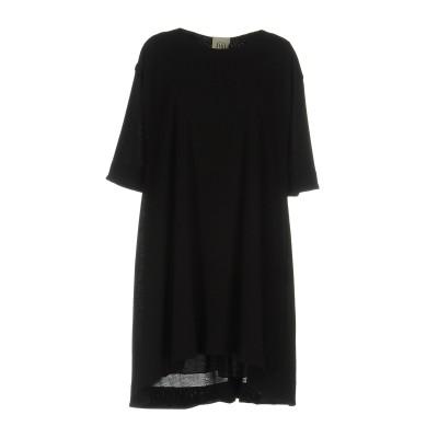 ジジル JIJIL ミニワンピース&ドレス ブラック 40 ポリエステル 67% / レーヨン 28% / ポリウレタン 5% ミニワンピース&ドレス