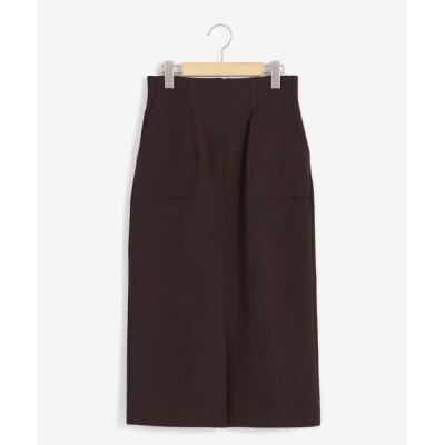 le.coeur blanc / ポンチハイウエストタイトスカート WOMEN スカート > スカート