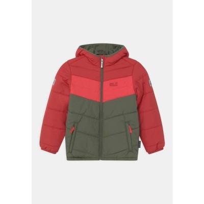 ジャックウルフスキン キッズ スポーツ用品 THREE HILLS UNISEX - Winter jacket - indian red