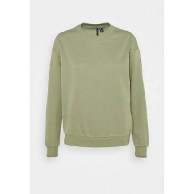 ヴェロモーダ レディース パーカー・スウェットシャツ アウター VMNATALIA  OVERSIZED  - Sweatshirt - oil green oil green