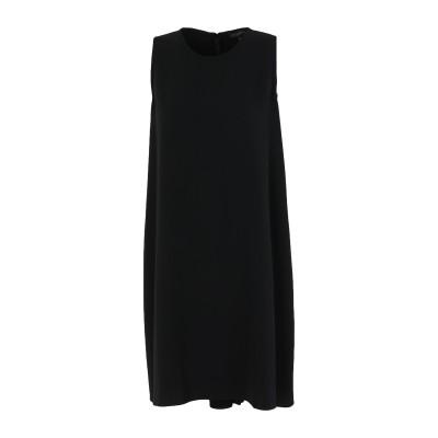 ANTONELLI ミニワンピース&ドレス ブラック 40 ポリエステル 94% / ポリウレタン 6% ミニワンピース&ドレス