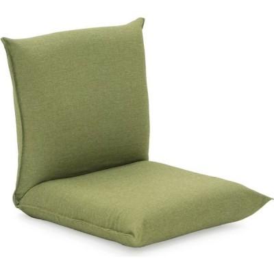 ヤマザキ 産学連携 コンパクト座椅子2 グリーン compact-2-gr 1台(直送品)