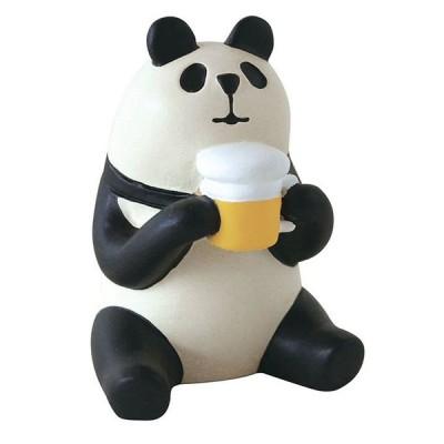 【デコレ/DECOLE】コンコンブルconcombreマスコット 麦酒パンダ ビールパンダ