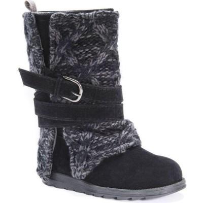 ムクルクス Muk Luks レディース ブーツ シューズ・靴 Nikki Boots Black