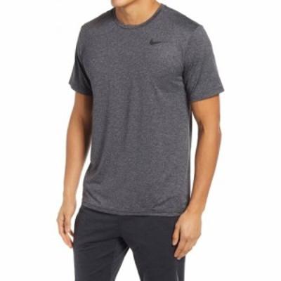ナイキ NIKE メンズ フィットネス・トレーニング ドライフィット Tシャツ トップス Dri-FIT Static Training T-Shirt Black/Grey/Black