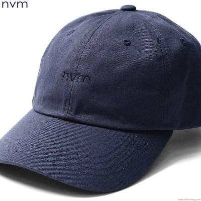 エヌブイエム NVM LOGO CAP (NAVY) [NVM17S-CP02] メンズ ヘッドギア キャップ ネイビー