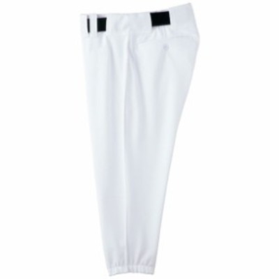 パンツ(ショートタイプ/ベルトループ型)(野球)(01ホワイト)【MIZUNO】ミズノ野球 ウエア ユニフォームパンツ(52PW48701)