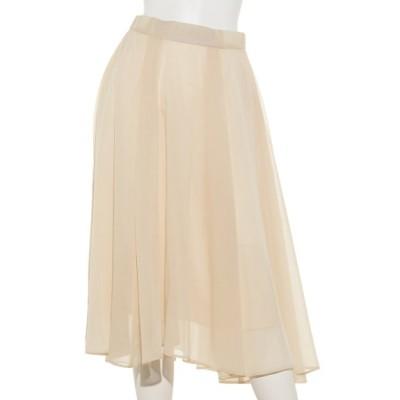 Doux archives (ドゥアルシーヴ) レディース スパンボイルスカート BEIGE S
