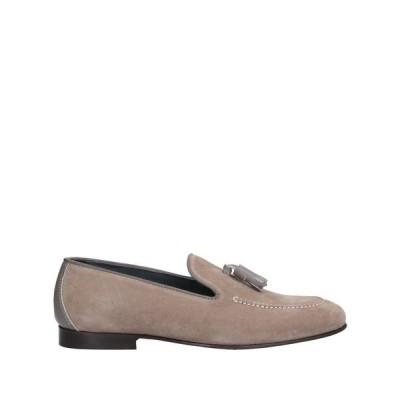 ポリーニ POLLINI メンズ ローファー シューズ・靴 loafers Dove grey