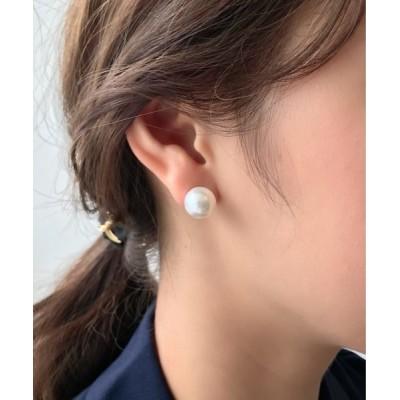 wears / 【12mm】 選べるパールピアス (コットンパール / アクリルパール) WOMEN アクセサリー > ピアス(両耳用)