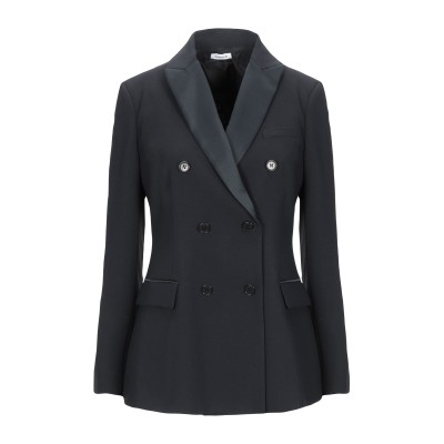 パロッシュ P.A.R.O.S.H. テーラードジャケット ブラック M ポリエステル 100% テーラードジャケット