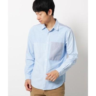シャツ ブラウス 【3L/WEB限定サイズ】切り替えデザインシャツ