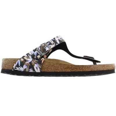 ビルケンシュトック レディース サンダル シューズ Gizeh Soft Footbed Birko-Flor Thong Sandal