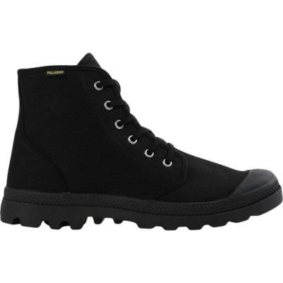 パラディウム PALLADIUM メンズ ブーツ シューズ・靴 Pampa Hi Originale Boots Black