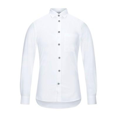 BURBERRY シャツ ホワイト XS コットン 97% / ポリウレタン 3% シャツ