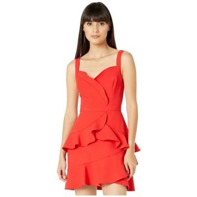 ビーシービージーマックスアズリア レディース ドレス  Ruffle Cocktail Dress