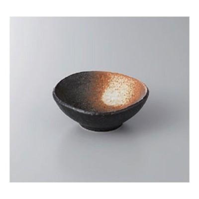 鉢 小鉢 たまご型黒備前小付