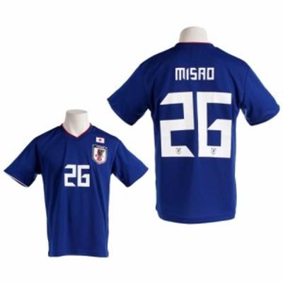 JFA(JFA)Tシャツ メンズ 半袖 プレーヤーズ 三竿 O-370 (Men's)